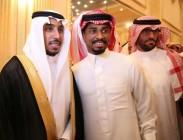 لاعب #الهلال سالم الدوسري يحتفل بزواجه وياسر يغرد مباركاً