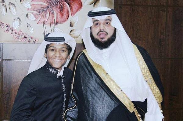 """""""أنا السعودي"""" التي أنشدها الابن محمد الدوسري""""."""