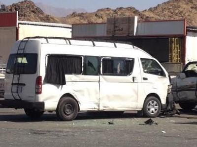 إصابة 6 معلمات إثر اصطدام حافلتهن بسيارة في الليث - المواطن