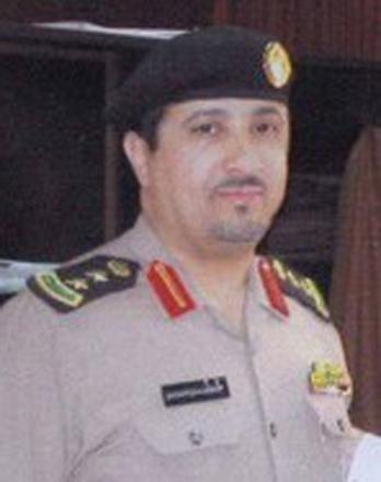 العميد عبدالهادي بن درهم الشهراني  مدير شرطة منطقة المدينة المنورة