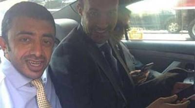 بالصورة .. وزير خارجية الإمارات يستقل سيارة أجرة في نيويورك