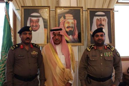 العميد عبدالله بن عايض السحيمي برتبة لواء