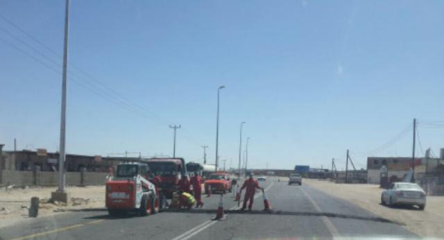 تحذيرات من مطبات صناعية حديثة على طريق خيبر الجنوب- بيشة
