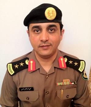 مدير إدارة مرور منطقة نجران، العقيد يحيى بن إبراهيم مصبح الشهراني