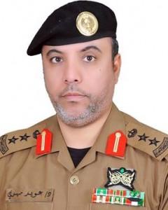 المتحدث الرسمي بشرطة منطقة الحدود الشمالية، العقيد الدكتور عويد مهدي