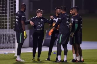 بالصور.. المنتخب السعودي يواصل تدريباته في جدة - المواطن