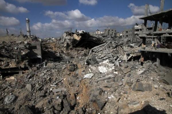 حي الشجاعية بغزة