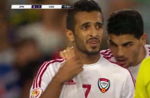 اللاعب الإماراتي علي مبخوت