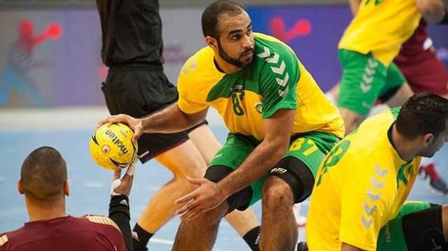 المنتخب السعودي الأول لكرة اليد مشاركته الافتتاحية في كأس العالم لكرة اليد في مونديال قطر 2015